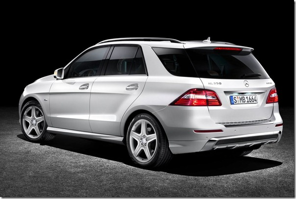 2012 Mercedes Benz M Class 6 2012 Mercedes Benz M Class (ML350CDI) SUV to be launched India in April 2012