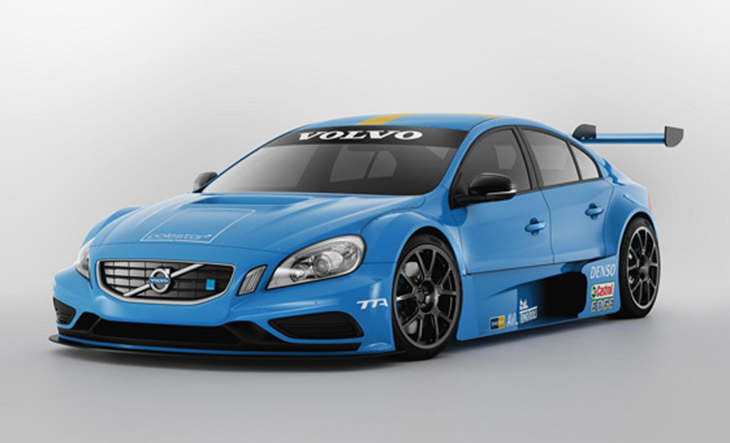 2012 Volvo S60 TTA Race Car 2012 Volvo S60 TTA unveiled for Swedish Racing Elite League