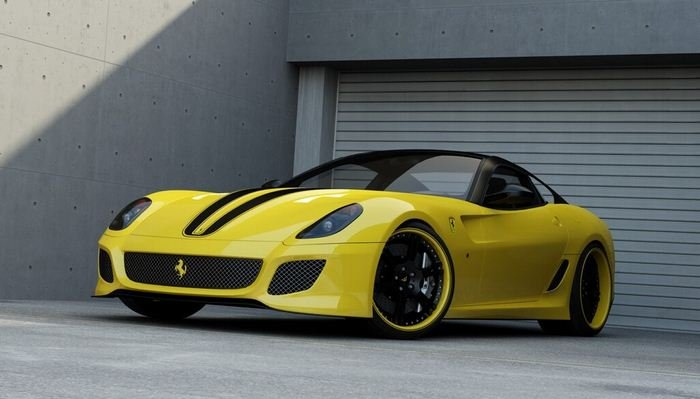 2012 WheelsandMore Ferrari 599 GTO 2012 WheelsandMore Ferrari 599 GTO revealed