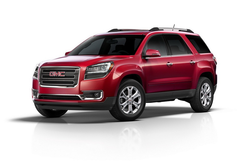 2013 GMC Acadia and Acadia Denali 3 2013 GMC Acadia and Acadia Denali unveiled