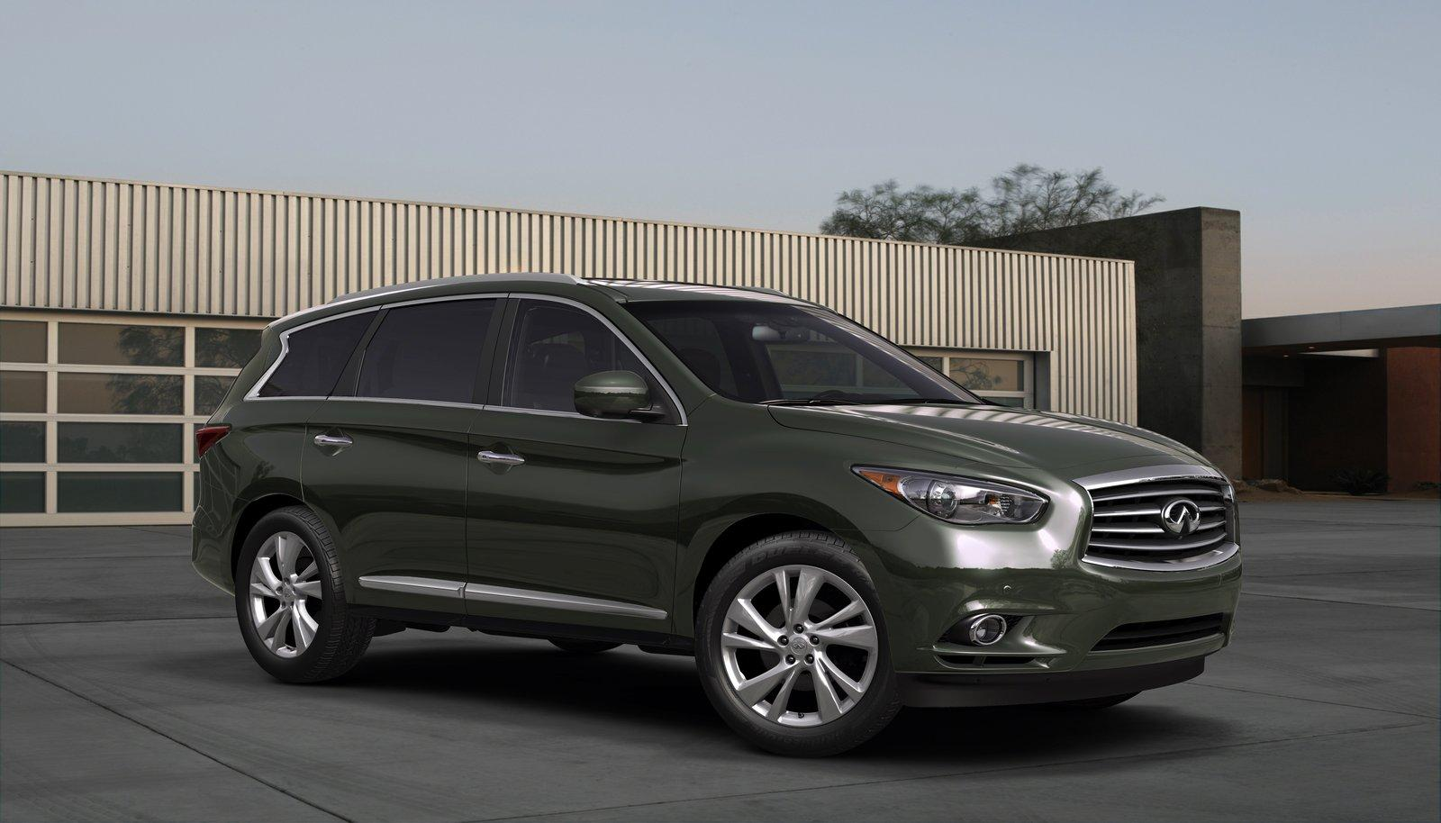 2013 Infiniti JX 1 US pricing announced for the 2013 Infiniti JX