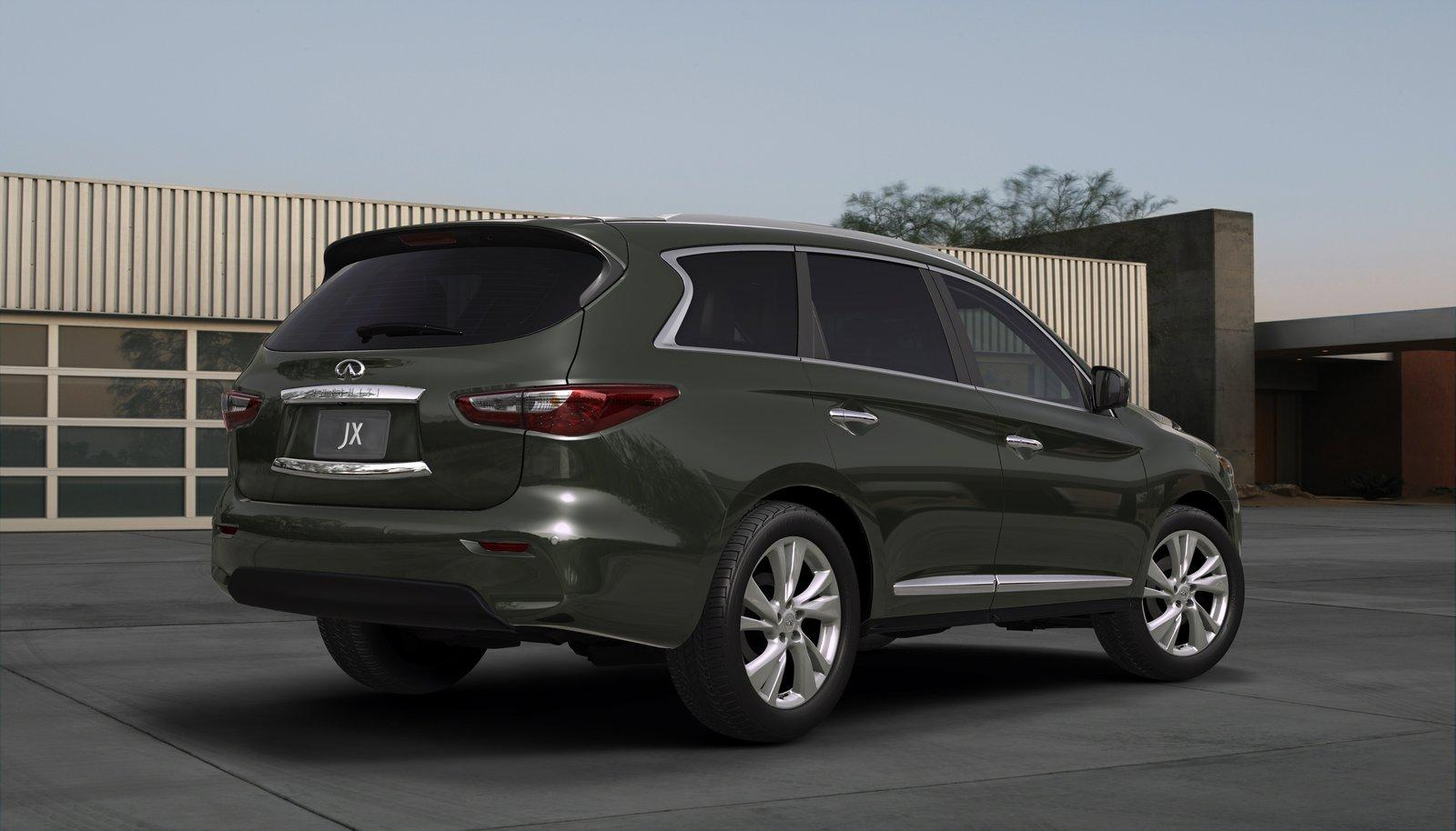2013 Infiniti JX 2 US pricing announced for the 2013 Infiniti JX