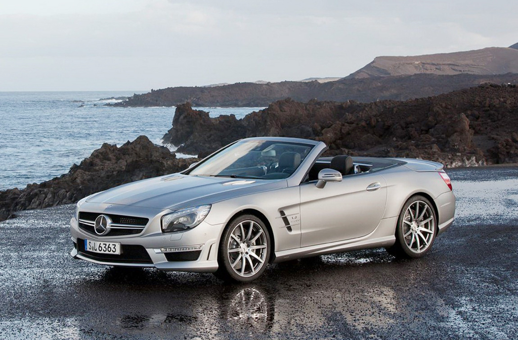 2013 Mercedes Benz SL63 AMG 1 First Official Shots of 2013 Mercedes Benz SL63 AMG revealed