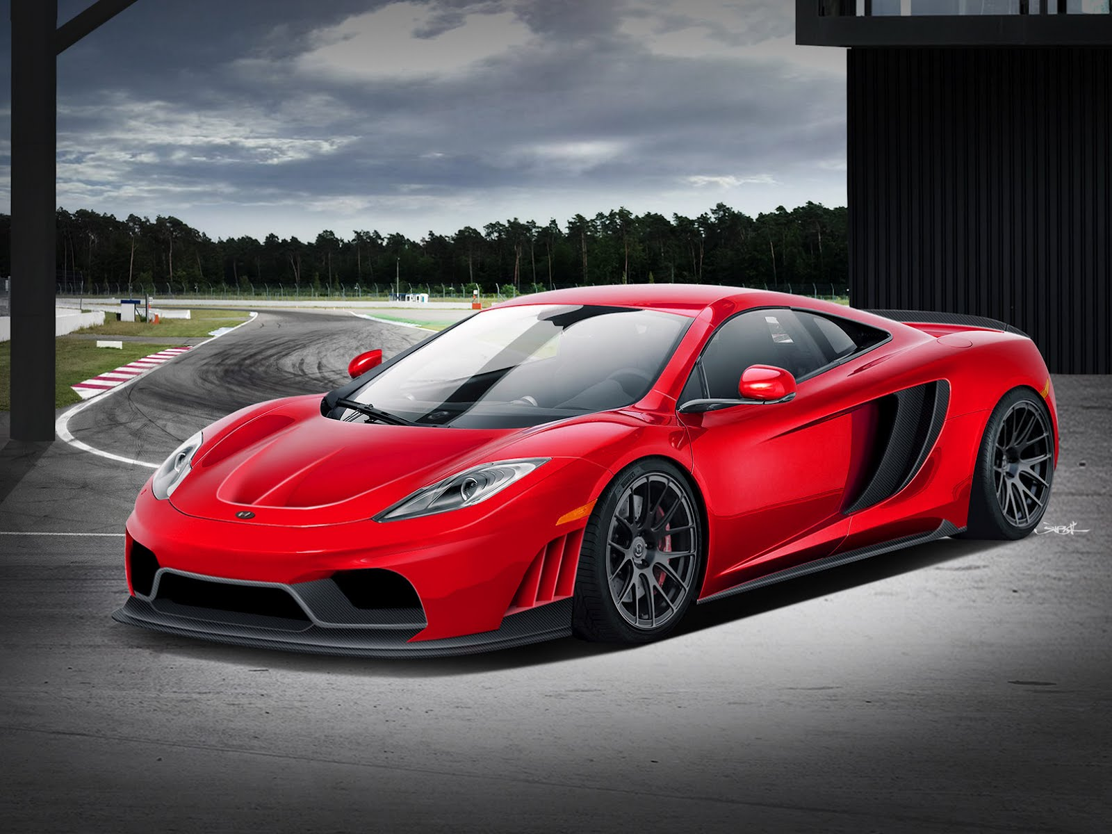 HPE800 McLaren MP4 12C 1 McLaren MP4 12C with an Up to Date Drive train Kit