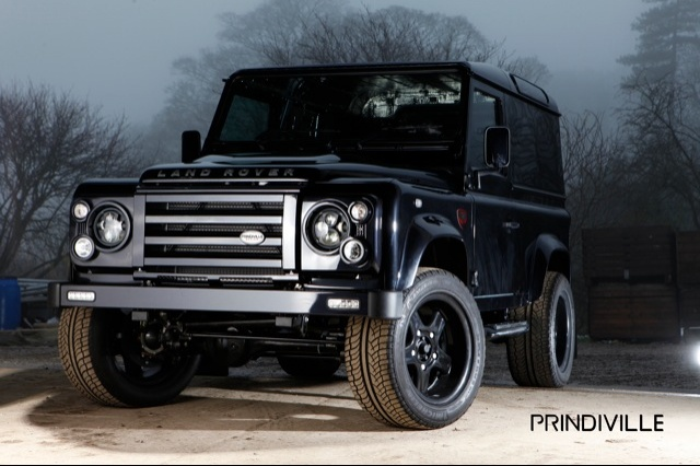 Land Rover Defender by Prindiville Design Prindiville to Tune up Limited Edition Land Rover Defender