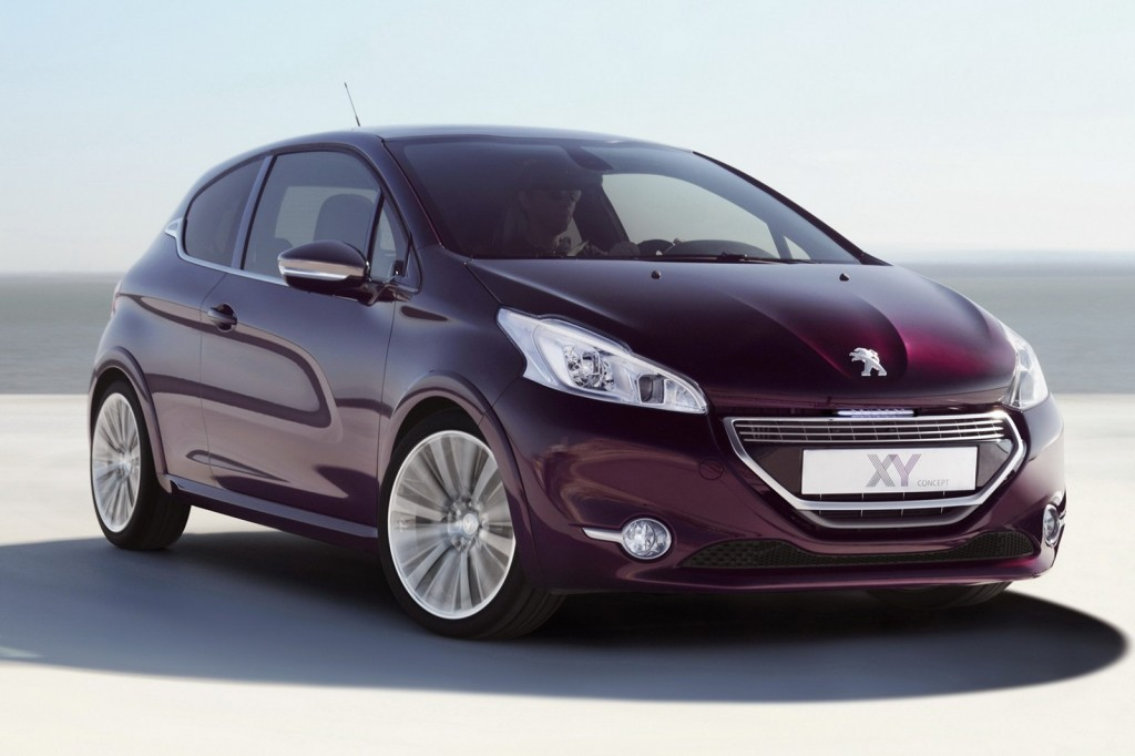 Peugeot XY Concept photos 1 1024x682 2012 Peugeot 208 XY Concept Vehicle  A Technical Review