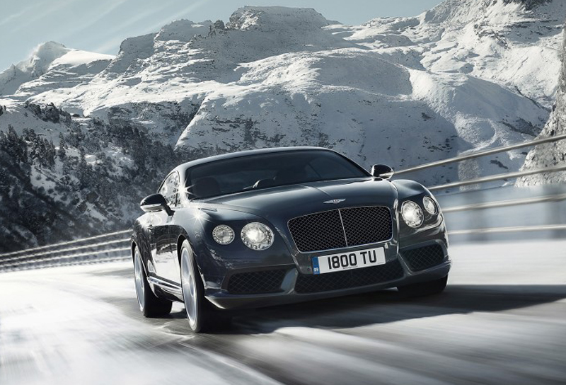 2012 Bentley Continental GT V8 Grey Front Angle 800x600 2012 Bentley Continental GT V8 to Attend Goodwood Carnival