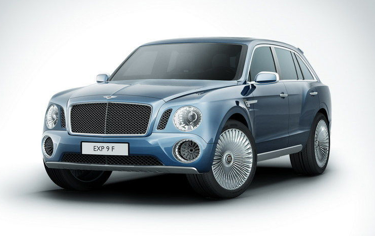 2012 Bentley EXP 9 F 2012 Bentley EXP 9 F reimagined and animated