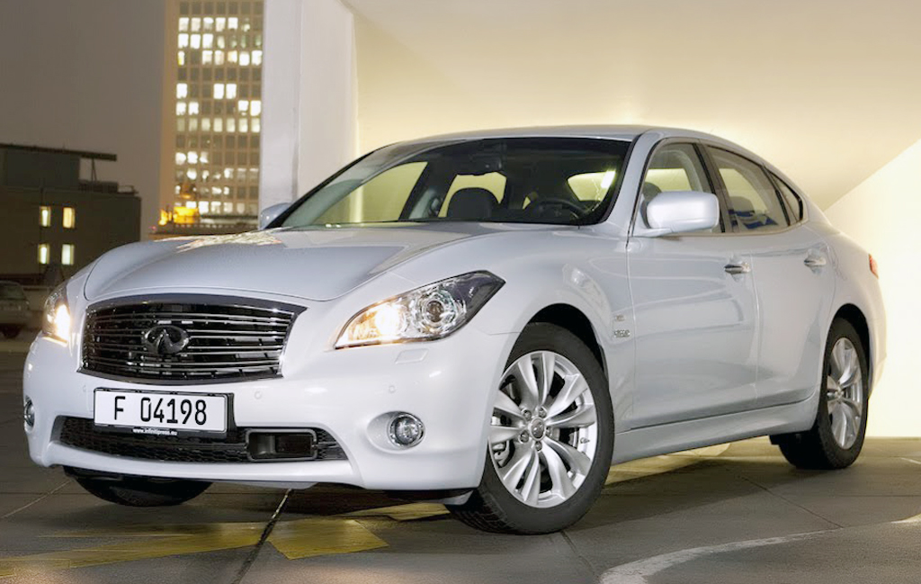 2012 Infiniti M35h 2012 Infiniti M35h to Have a New Facelift