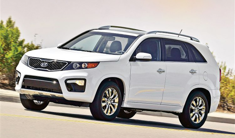 2012 Kia Sorento Front View Kia to Have Unwrapped 2013 Sorento