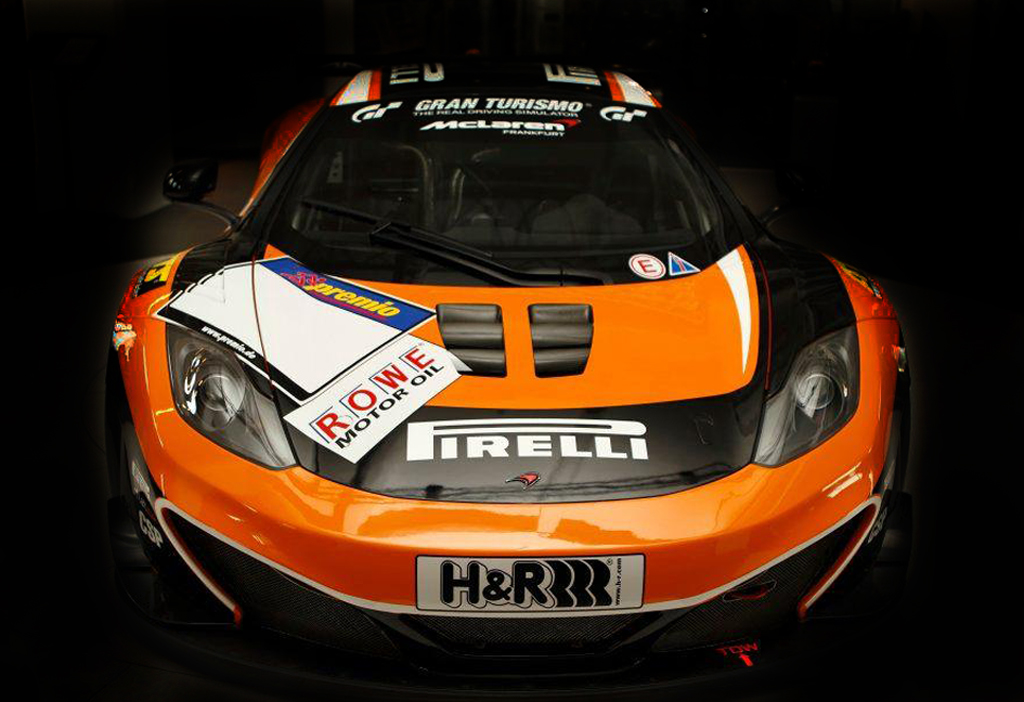 2012 McLaren MP4 12C GT3 The racing vehicle excites its perked up teams