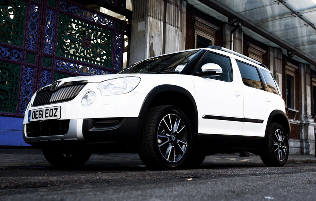 2012 Skoda Yeti Urban Limited Edition Skoda to Release 2012 Limited Edition Yeti Urban in Britain