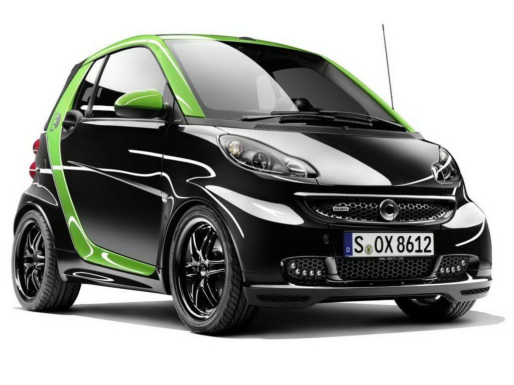 2012 Smart Brabus Electric Drive and Ebike Features of 2012 Smart Brabus Electric Drive and Ebike