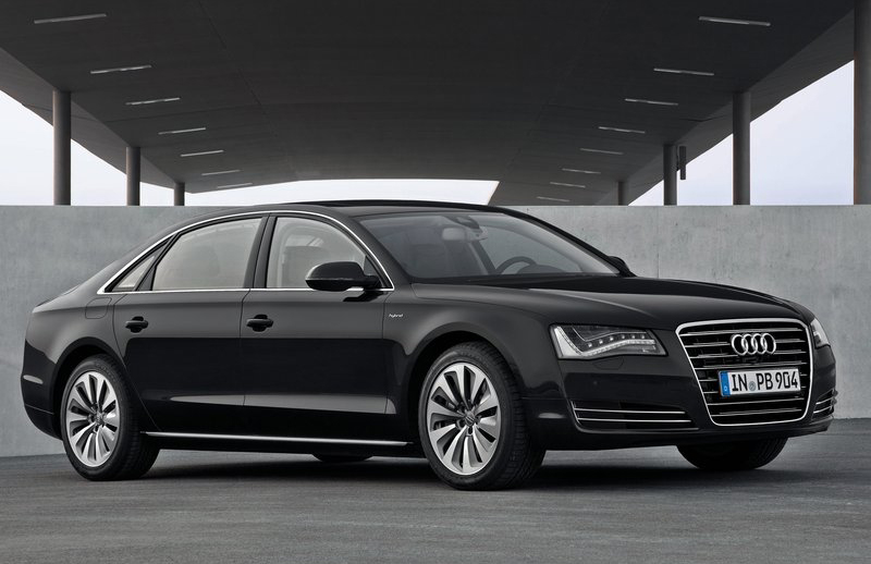 2013 Audi A8 L Hybrid 1 2013 Audi A8 L Hybrid to Save Fuel and Prevent Technical Drawbacks