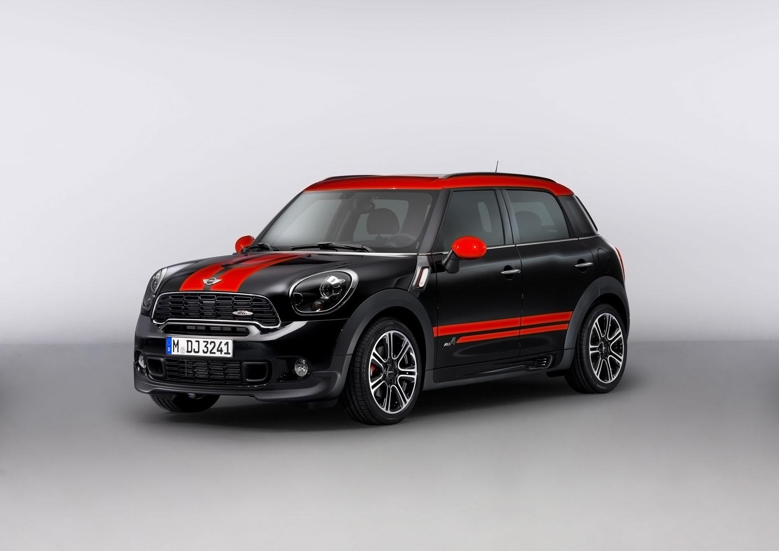 2013 MINI Countryman John Cooper Works 3 2013 Mini Countryman John Cooper Works unveiled