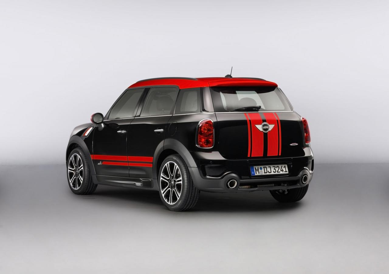 2013 MINI Countryman John Cooper Works 7 2013 Mini Countryman John Cooper Works unveiled