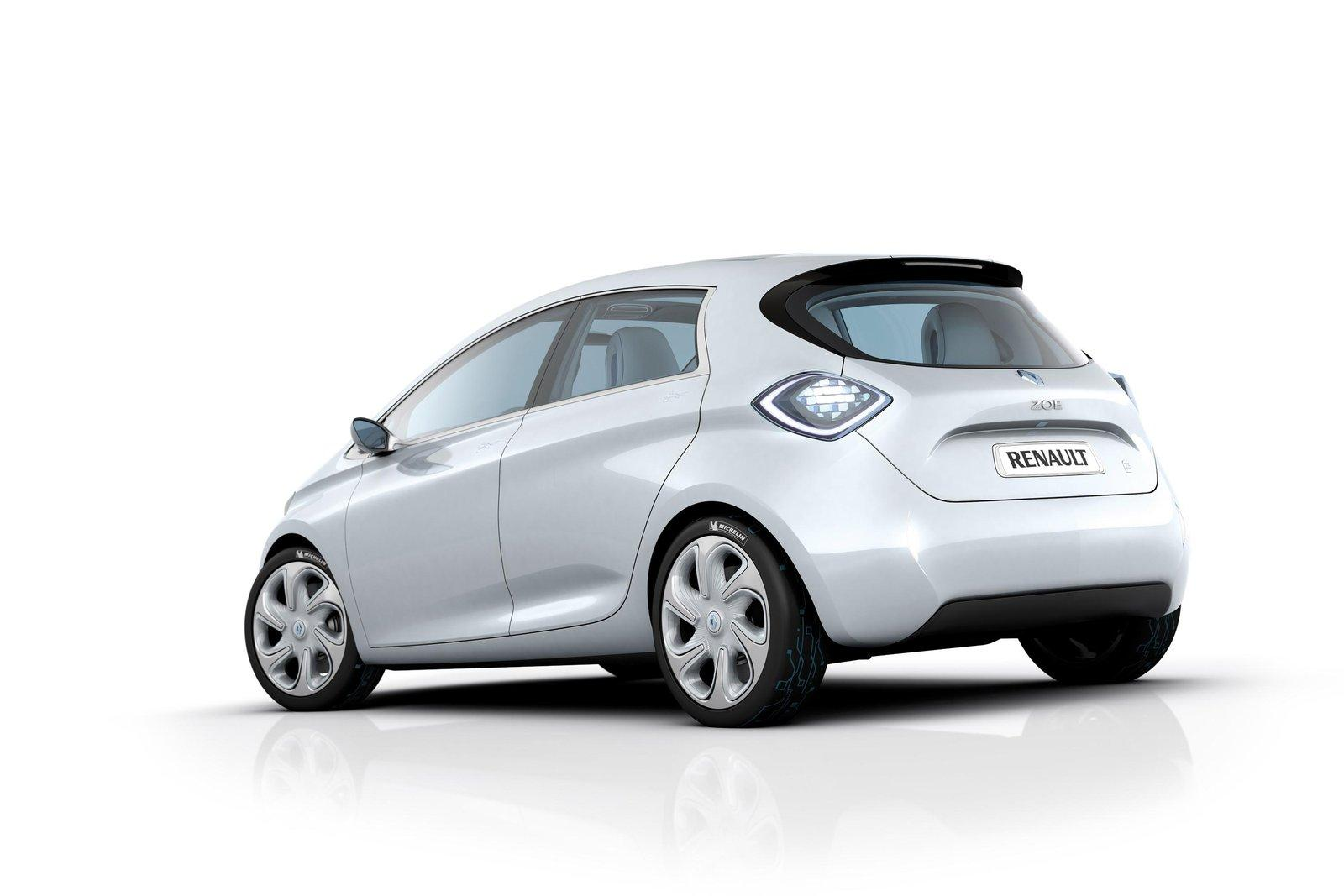 2013 Renault Zoe Electric 4 New 2013 Renault Zoe Electric Production Version – to Be Released after Technical  Revision