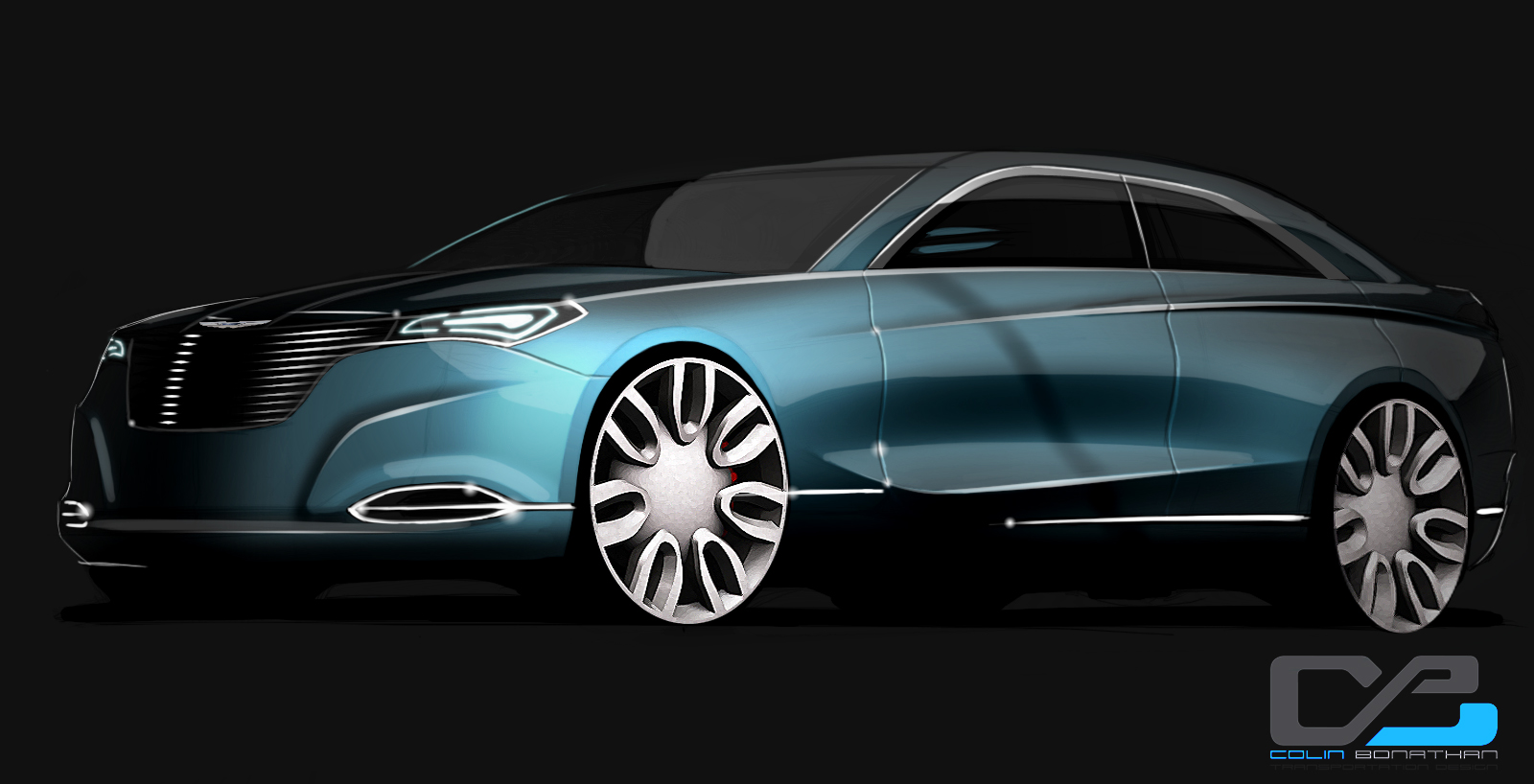 2014 Chrysler 200 Sedan Next generation 2014 Chrysler 200 Sedan Conceptualised