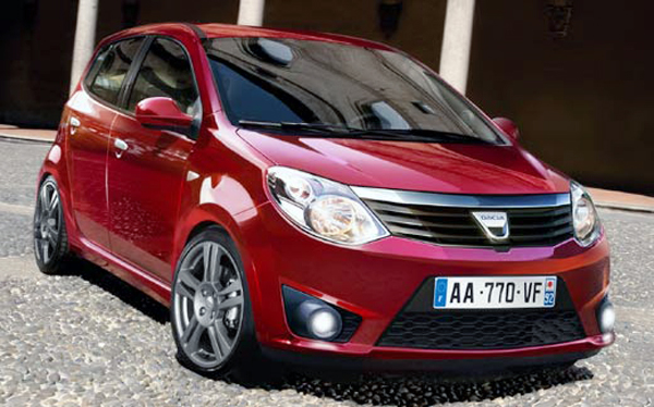 2015 Dacia Citadine 2015 Dacia Citadine coming with a price tag of 5000 euros