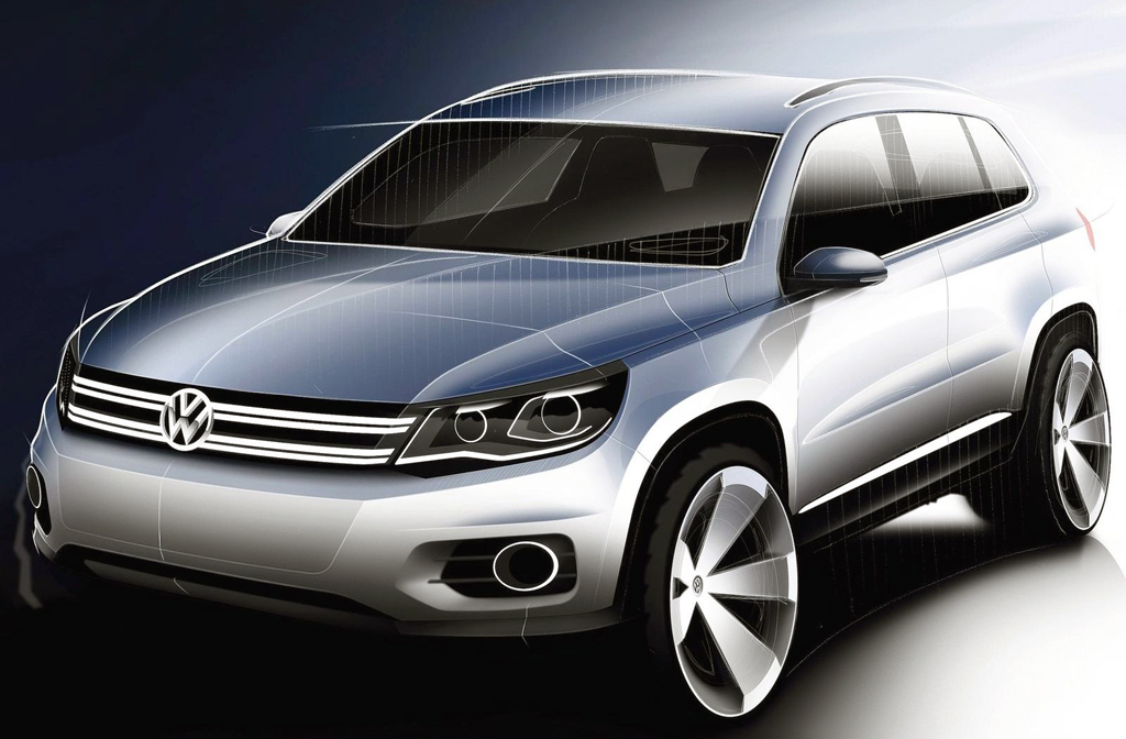 2015 Volkswagen Tiguan 2015 Volkswagen Tiguan with New Technical