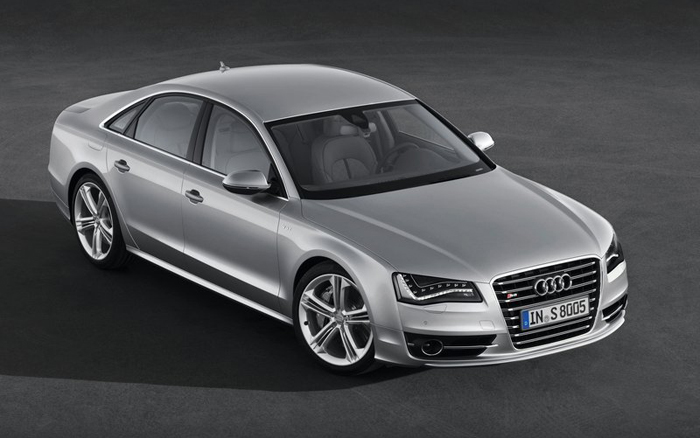 Audi S8 2013 2013 Audi S8 Edition with a 4.0 TFSI Powertrain