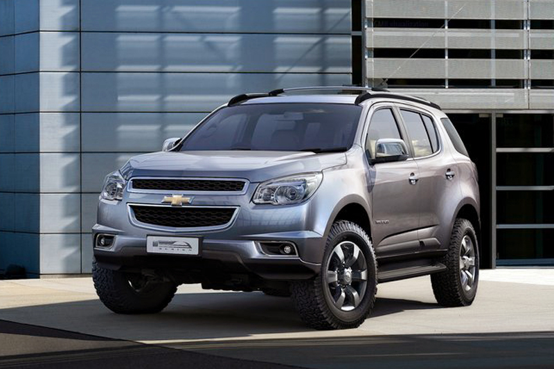 Chevrolet Trailblazer 2013 2012 Chevrolet Trailblazer   A Technical Overview