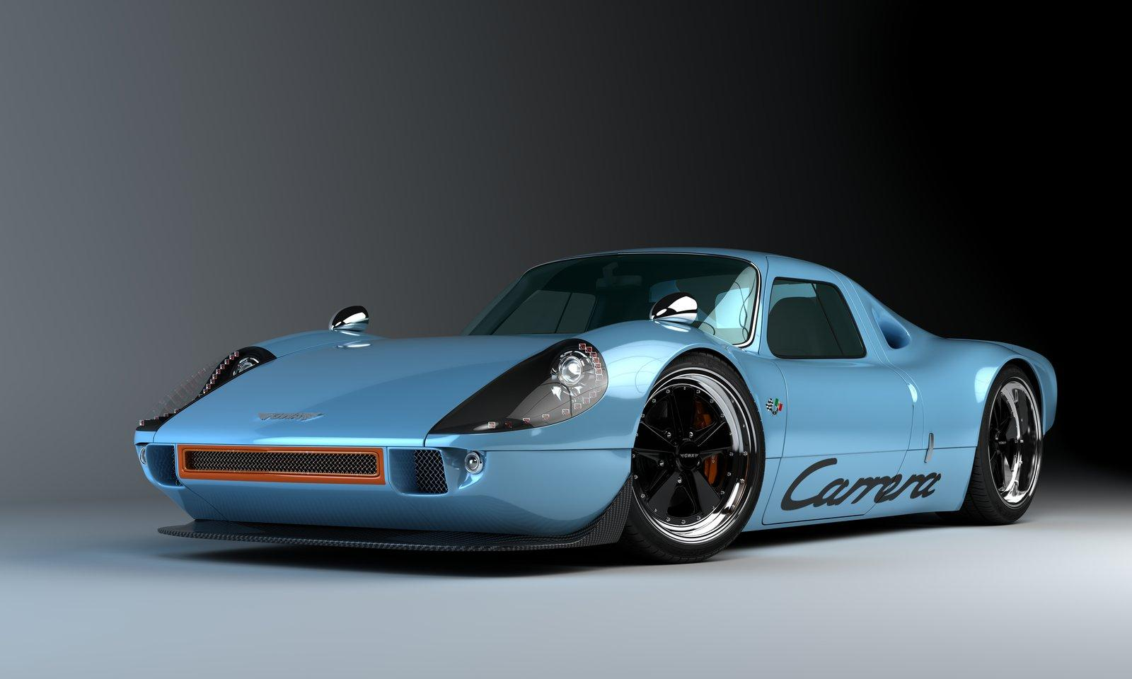 Gullwing America P904 Carrera 2 Visionary plans of Gullwing