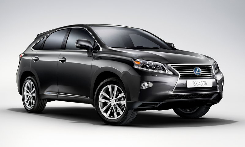 Lexus RX 450h 2013 3 2013 Lexus RX 450h Bring New Revolution in Its Segment