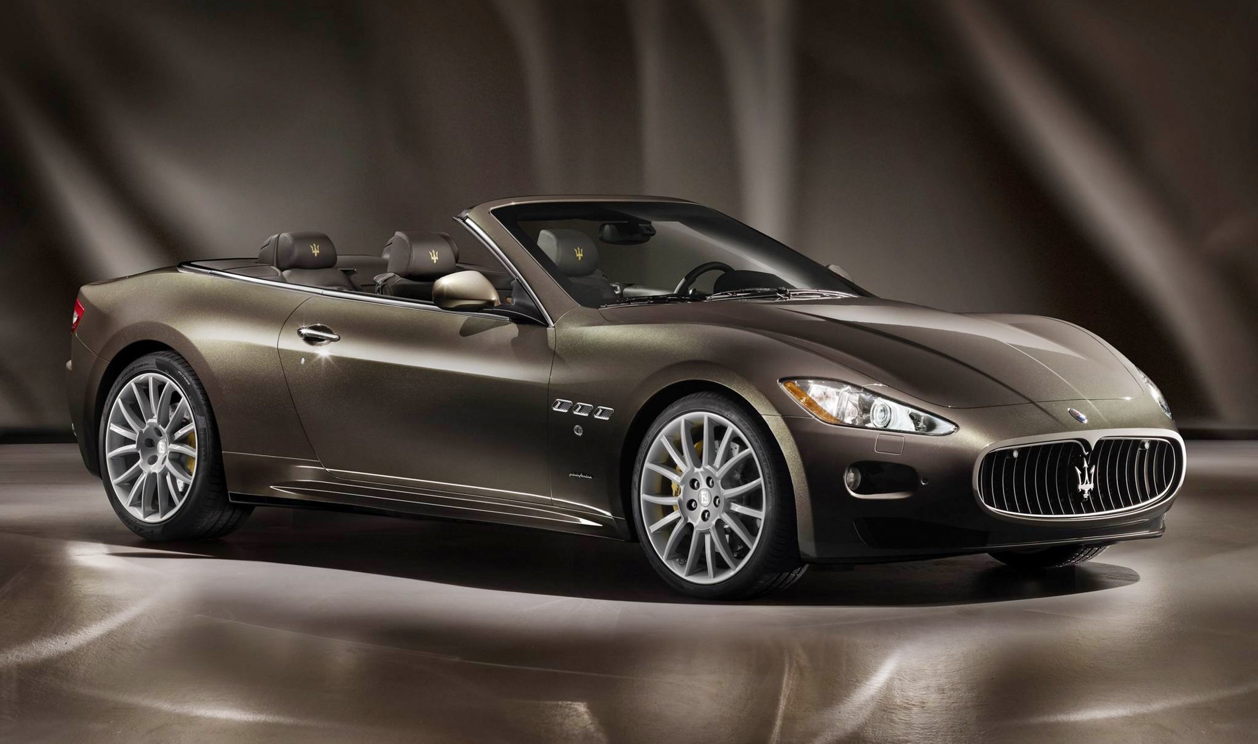 Maserati GranCabrio Fendi 2012 Maserati GranCabrio Fendi   Meant for Innovation in Terms of Curb Appealing