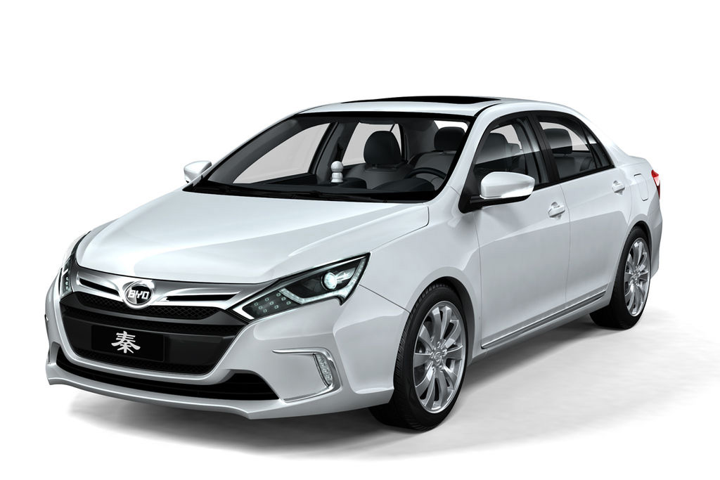 2012 BYD Qin Electric Sedan 2012 BYD Qin Electric Sedan announced