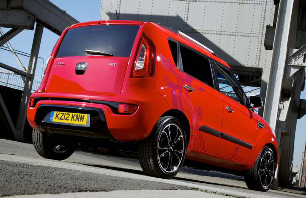 2012 kia soul inferno announced for uk. Black Bedroom Furniture Sets. Home Design Ideas
