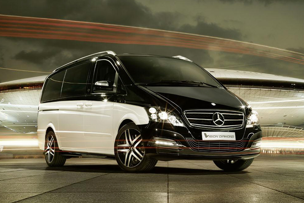 2012 Mercedes Benz Viano Vision Diamond Concept 1 2012 Mercedes Benz Viano Vision Diamond Concept introduced in Beijing