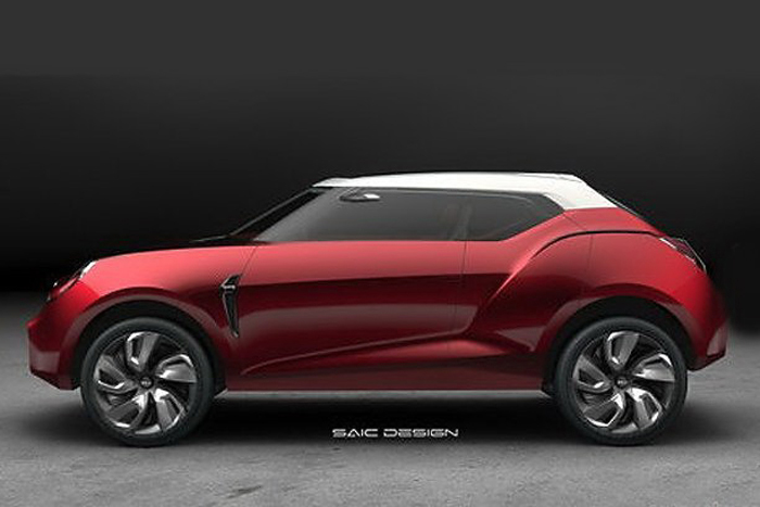 2012 New MG Icon Concept Crossover 1 2012 New MG Icon Concept Crossover to be revealed