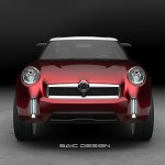 2012 New MG Icon Concept Crossover