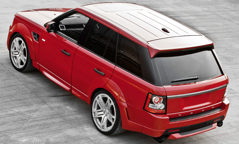 2012 Project Kahn Sultry Red Ranger 1 Project Kahn Will Definitely Attract Young Hearts for Gorgeous Red Curb Appeal