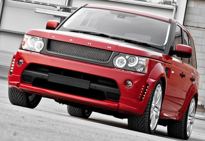 2012 Project Kahn Sultry Red Ranger Project Kahn Will Definitely Attract Young Hearts for Gorgeous Red Curb Appeal