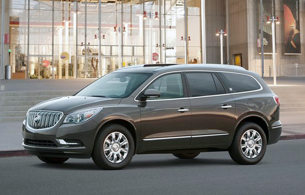 2013 Buick Enclave 2013 Buick Enclave Variant   A Short Technical Review