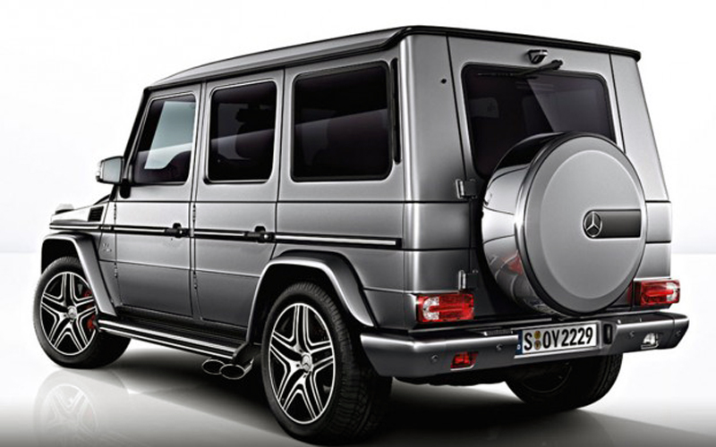 2013 Mercedes Benz G63 AMG 2 First Official pictures of the 2013 Mercedes Benz G63 AMG