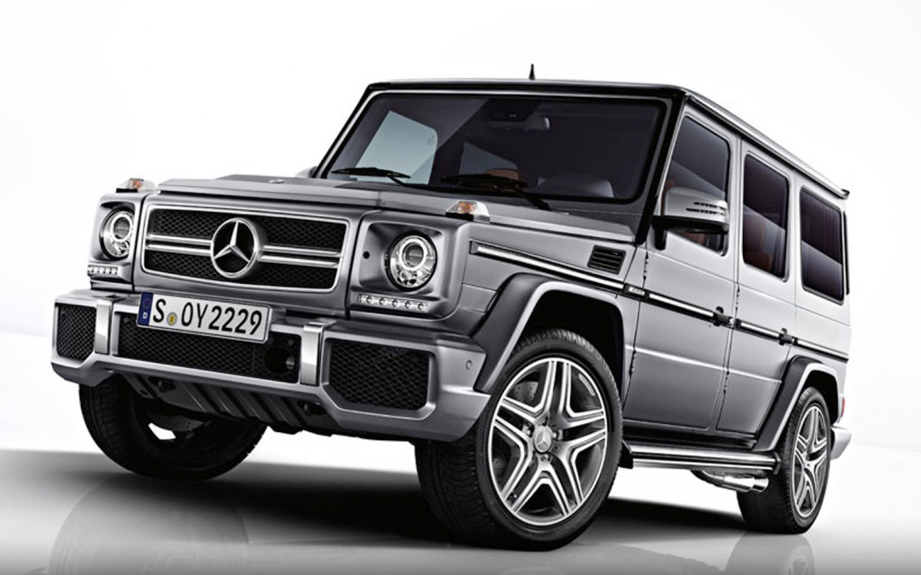 2013 Mercedes Benz G63 AMG First Official pictures of the 2013 Mercedes Benz G63 AMG