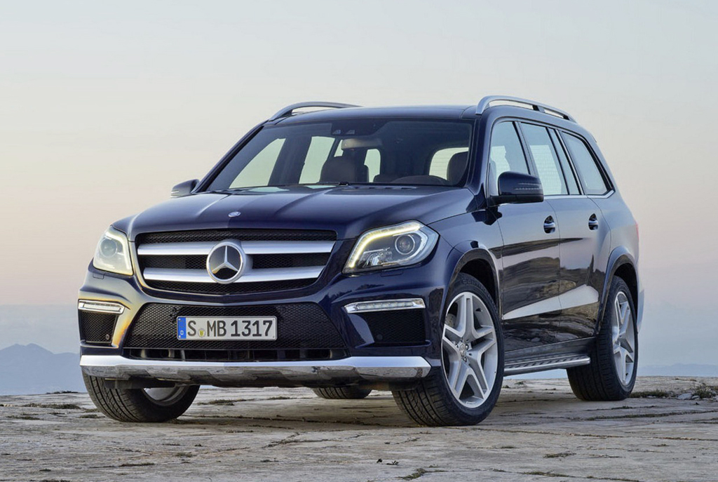 2013 Mercedes Benz GL Class 2 2013 GL Class from Mercedes Benz is all set to make its entry