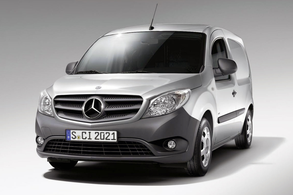 2014 Mercedes Benz Citan 2014 Mercedes Benz Citan unveiled
