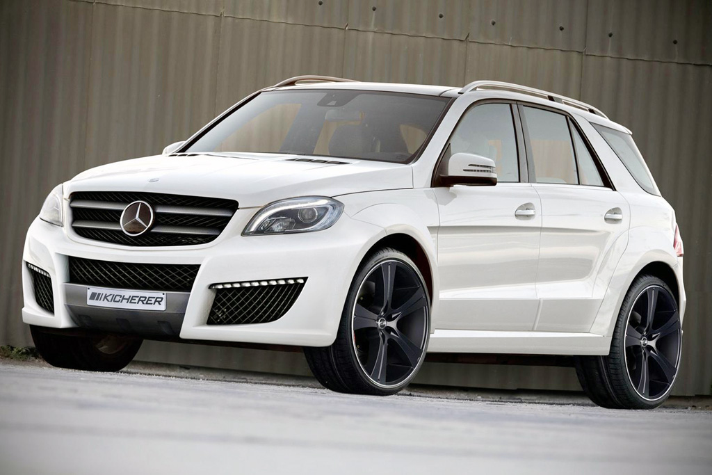Kicherer releases latest 2012 mercedes m class in a new for New mercedes benz m class