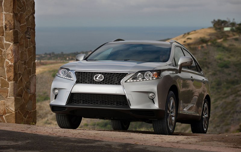Lexus RX 350 F Sport 2013 1 2013 Lexus RX 350 F Sport   Attractive, Colorful and Eco friendly