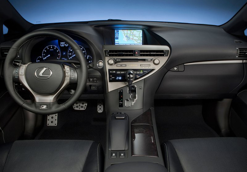 Lexus RX 350 F Sport 2013 2013 Lexus RX 350 F Sport   Attractive, Colorful and Eco friendly