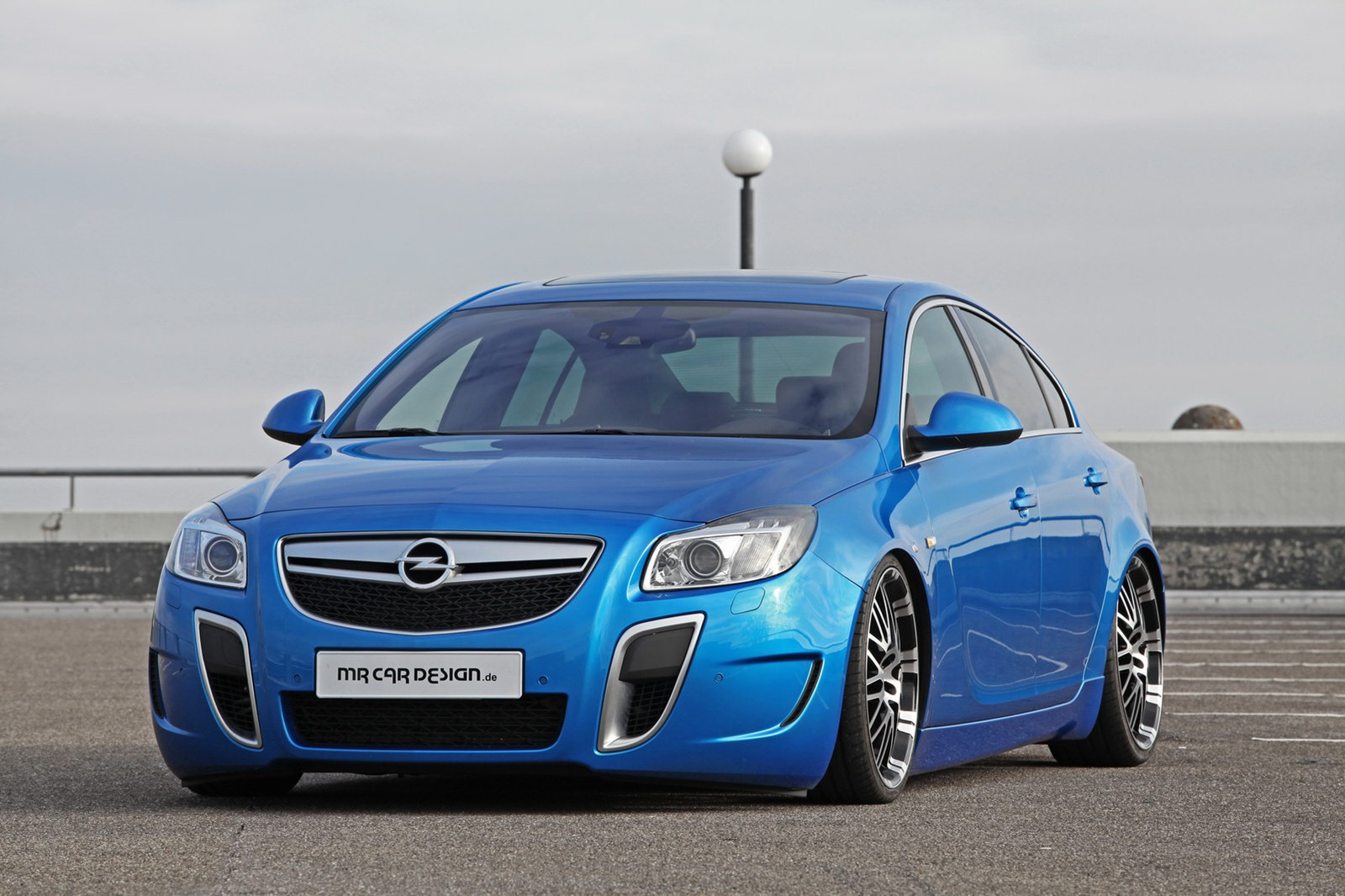 MR Car Design Opel Insignia OPC MR Car design powers up the 2012 Opel Insignia OPC