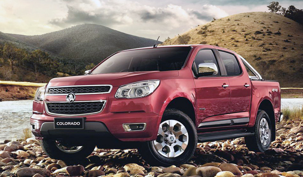 2012 Holden Colorado 2013 Holden Colorado Vehicle with DOHC V4 Power train