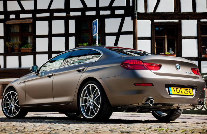 2013 BMW 6 Series Gran Coupe UK Version 2 2013 BMW 6 Series Gran Coupe UK Version   A Review
