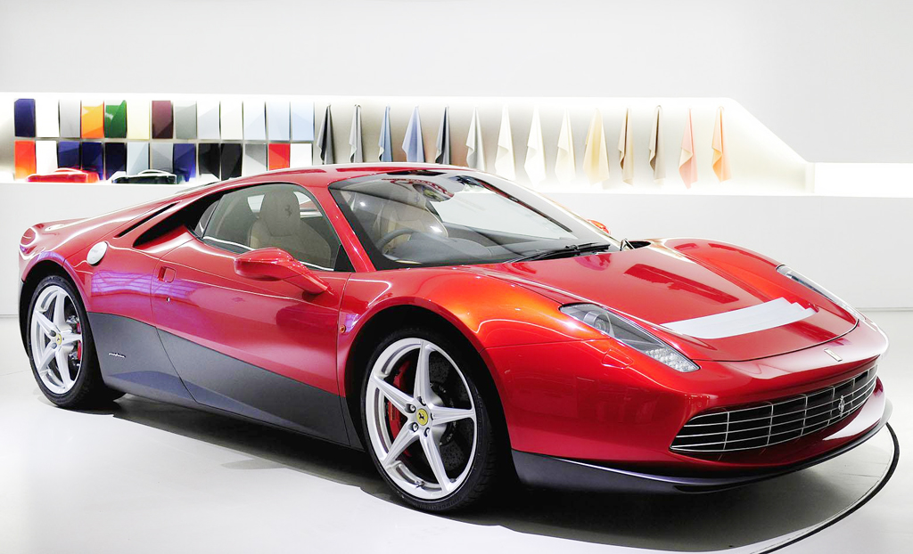 2013 Ferrari SP12 EC 2013 Ferrari SP12 EC: the Customised Wonder for Eric Clapton