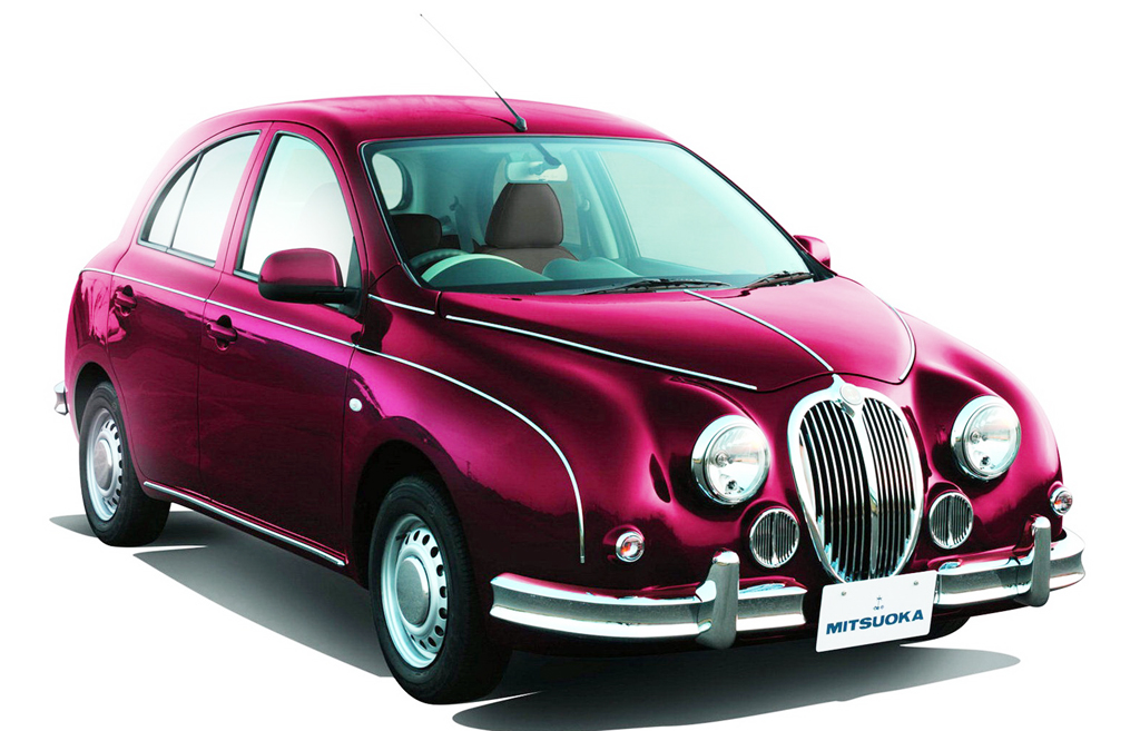 2013 Mitsuoka Viewt Mitsuoka presents the Third Generation of its 2013 Retro fused Viewt