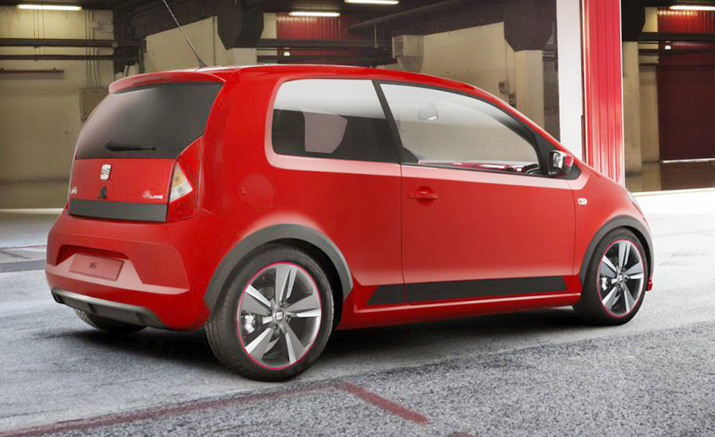 2013 Seat Mii FR Concept 2013 Seat Mii FR Concept   Energy Efficient and Eco friendly